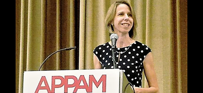 "Carolyn Heinrich's Presidential address at APPAM titled ""A Thousand Petty Fortresses:  Administrative Burden in U.S. Immigration Policies and its Consequences"". Click to read more"