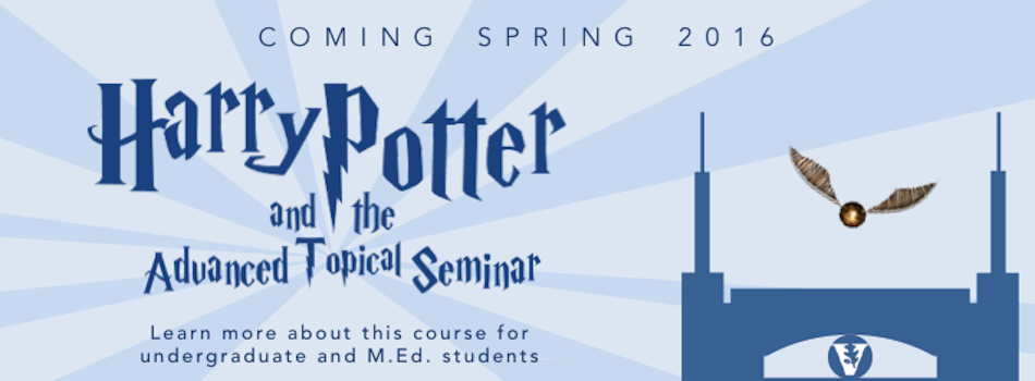 Harry Potter and the Advanced Topical Seminar