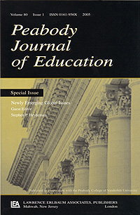 Cover of Peabody Journal