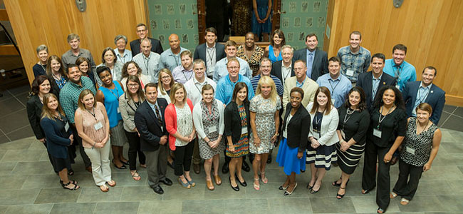 Many alumni of the LPO Ed.D. Program recently traveled to Peabody Campus for the first Ed.D. Alumni Conference.